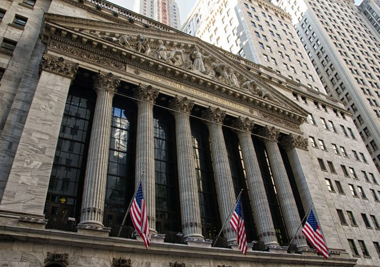 New York Stock Exchange - the largest stock exchange in the world