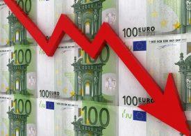 Чем вызвано падение курса евро?