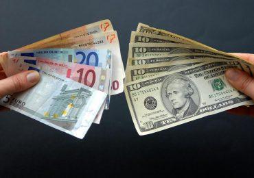 Состояние пары валют евро-доллар