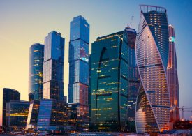 Рынок акций российских компаний идет вверх