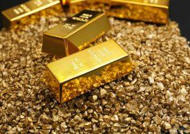 Фондовые активы в золото достигли рекордных значений