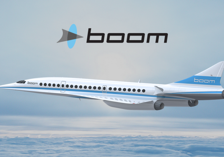 Компания Boom Technology привлекла финансирование для разработки сверхзвукового самолета